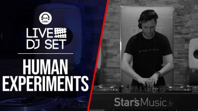 Live DJ Set with Human Experiments