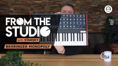 From The Studio - Behringer MonoPoly