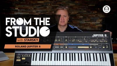 From The Studio - The Roland Jupiter 6 : a very expensive classic