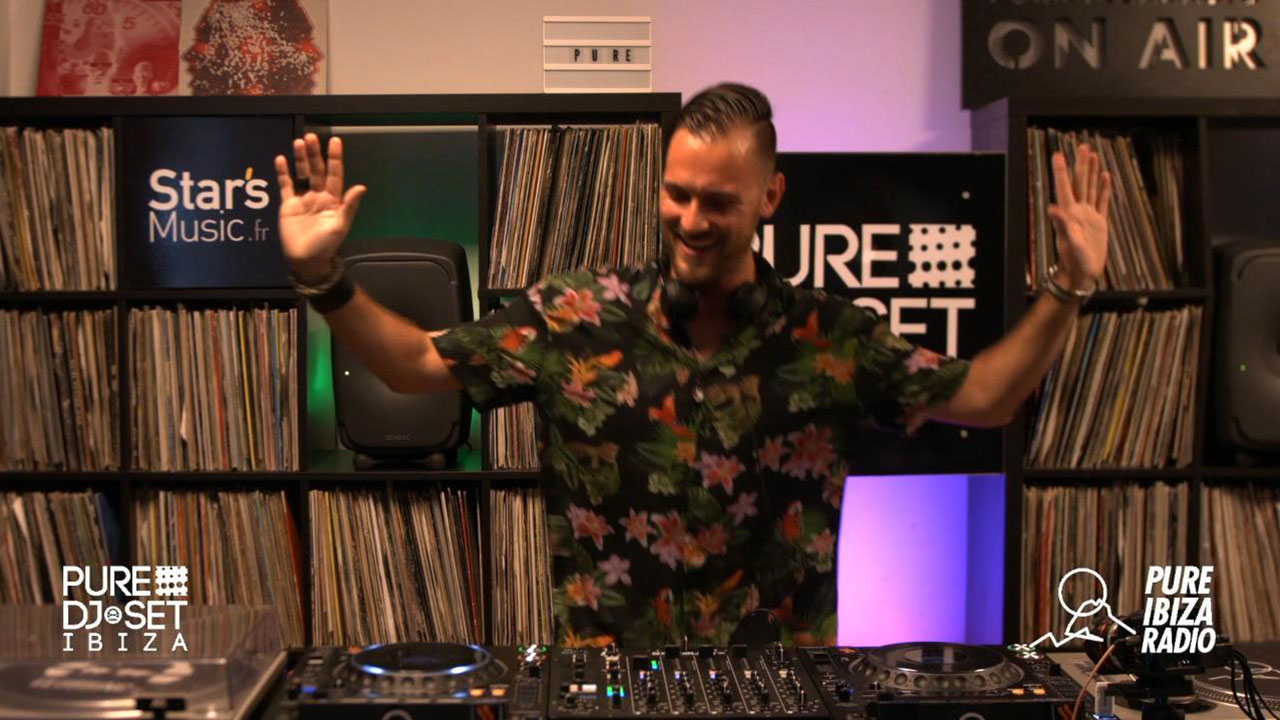 Pure DJ Set Ibiza with Frederic Stunkel