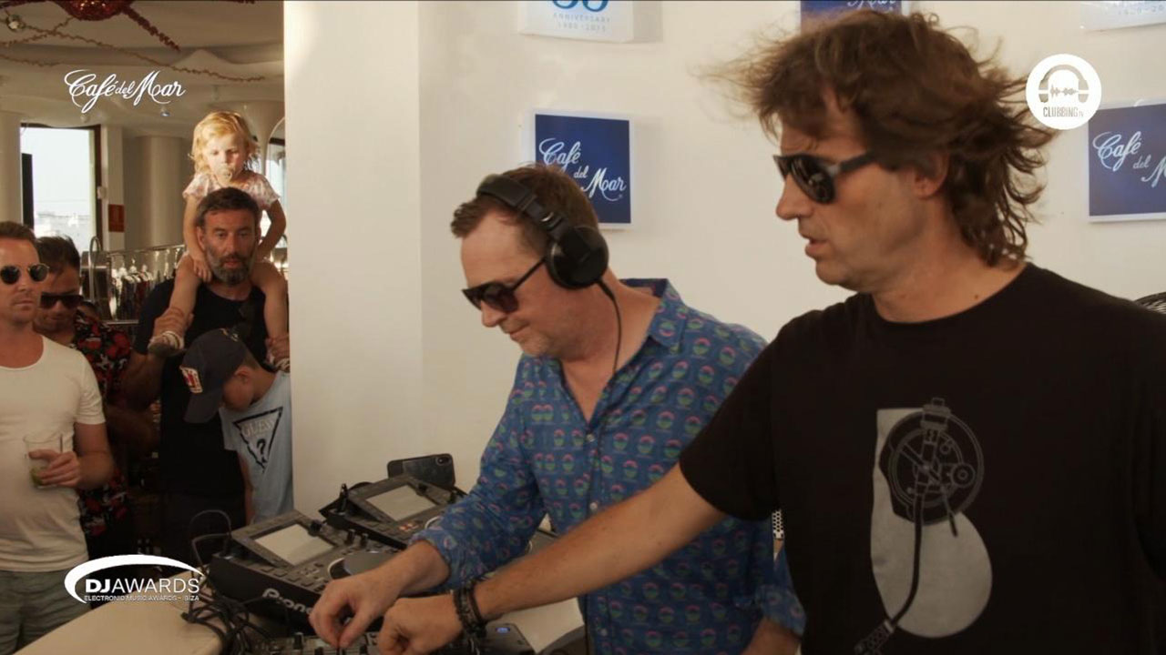 DJ Awards Exclusive Sunset with special guests: Hernan Cattaneo b2b Nick warren Streamed Live by Club