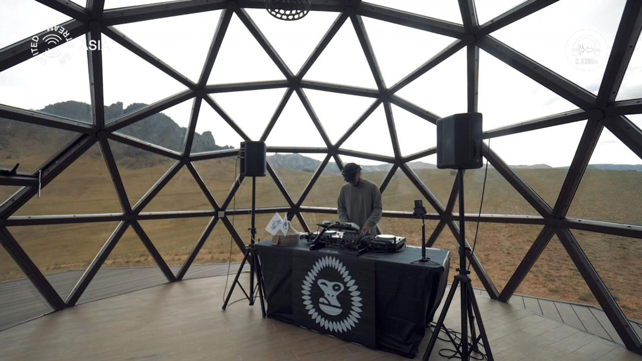 United We Stream Asia #12 Geodome at Red Rocks Terelj X UGC - Ulaanbaatar with Nex (Mongol Mix Projec