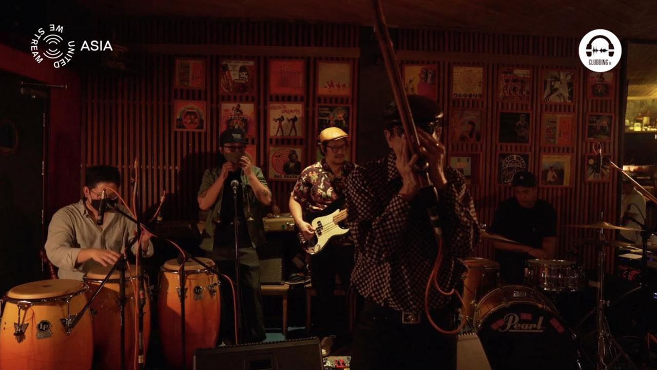 United We Stream Asia #15 - Bangkok - Studio Lam with Paradise Bangkok Molam International Band