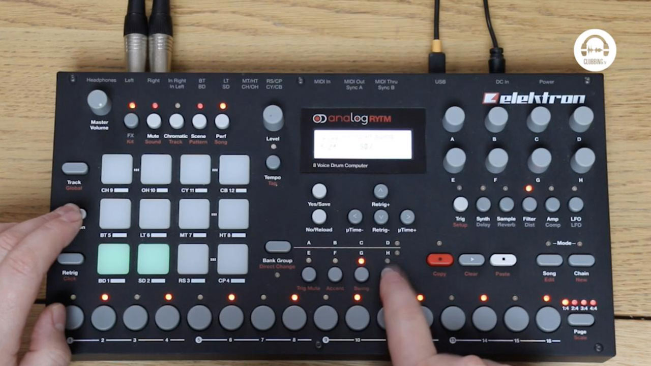 From The Studio - Elektron Analog Rytm