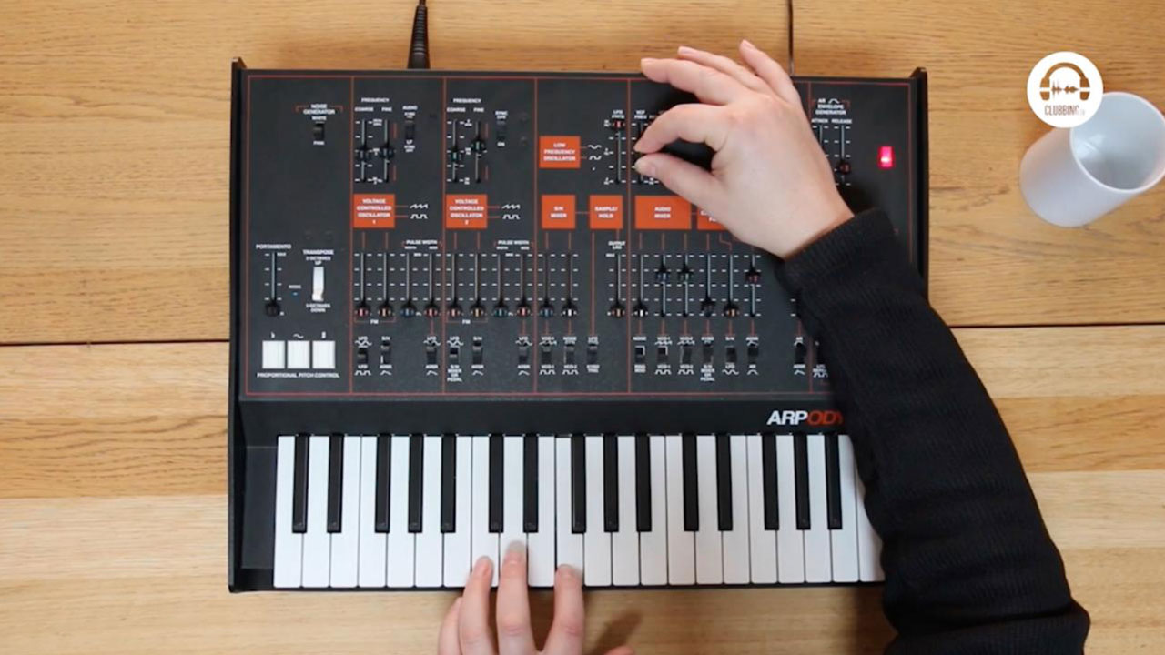 From The Studio - KORG ARP Odyssey