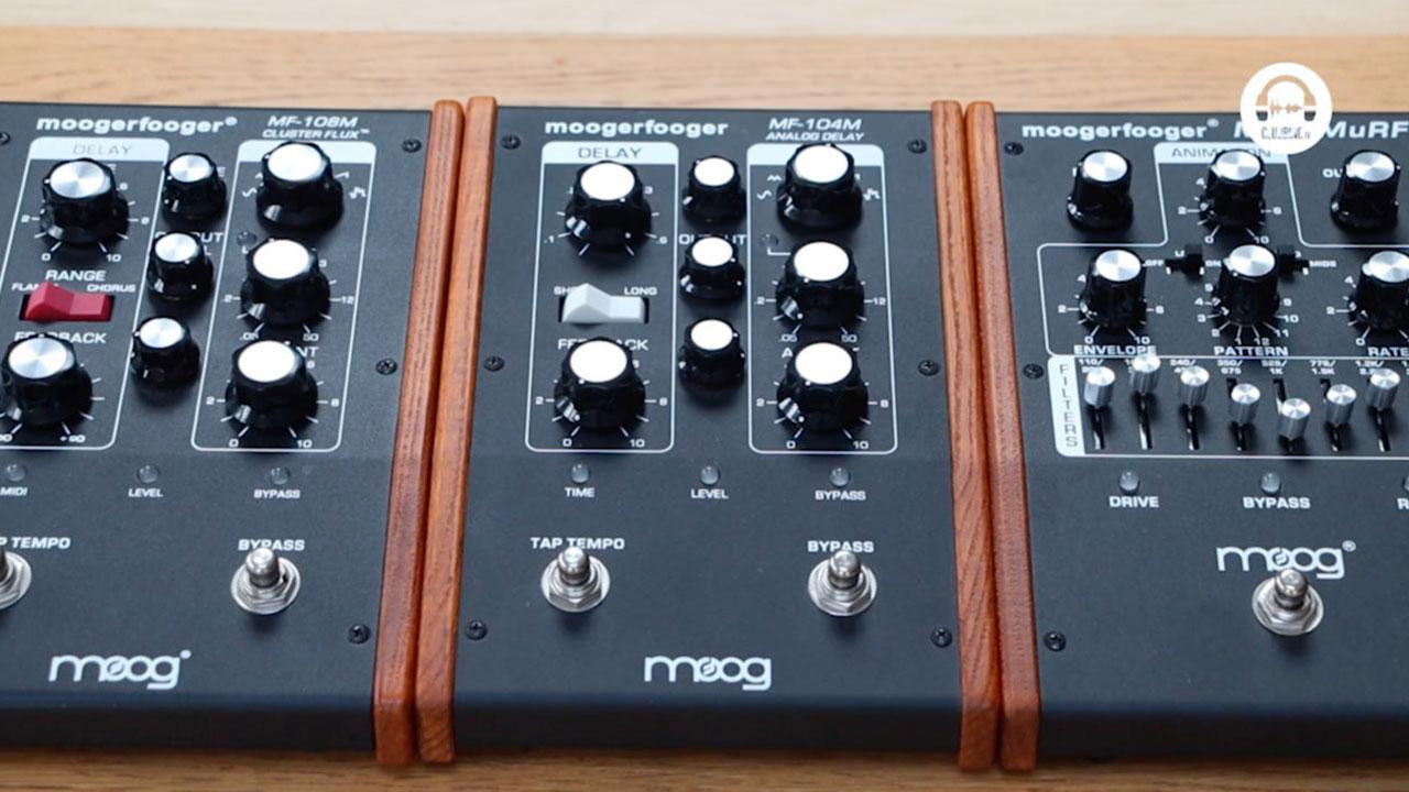 From The Studio - Moog Music Moogerfooger