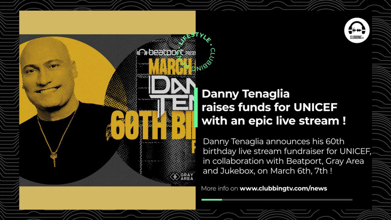 Clubbing News - EP 19 : Danny Tenaglia, BigCityBeats, Amnesia Ibiza, ...