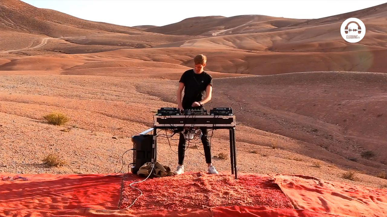 Clubbing Experience with Charles B @ Moroccan Desert