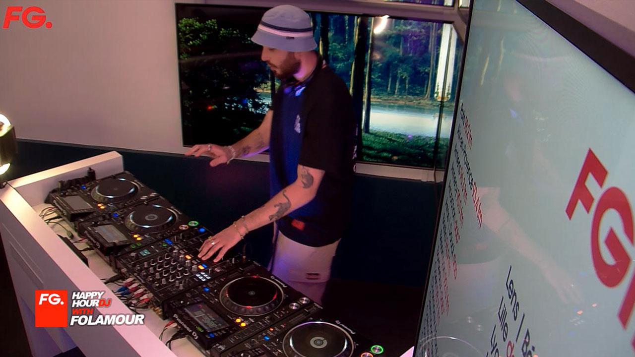 FG   HappyHour DJ with Folamour
