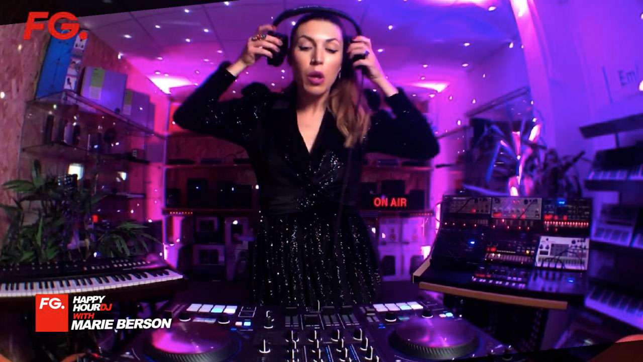 FG | HappyHour DJ with Marie Berson