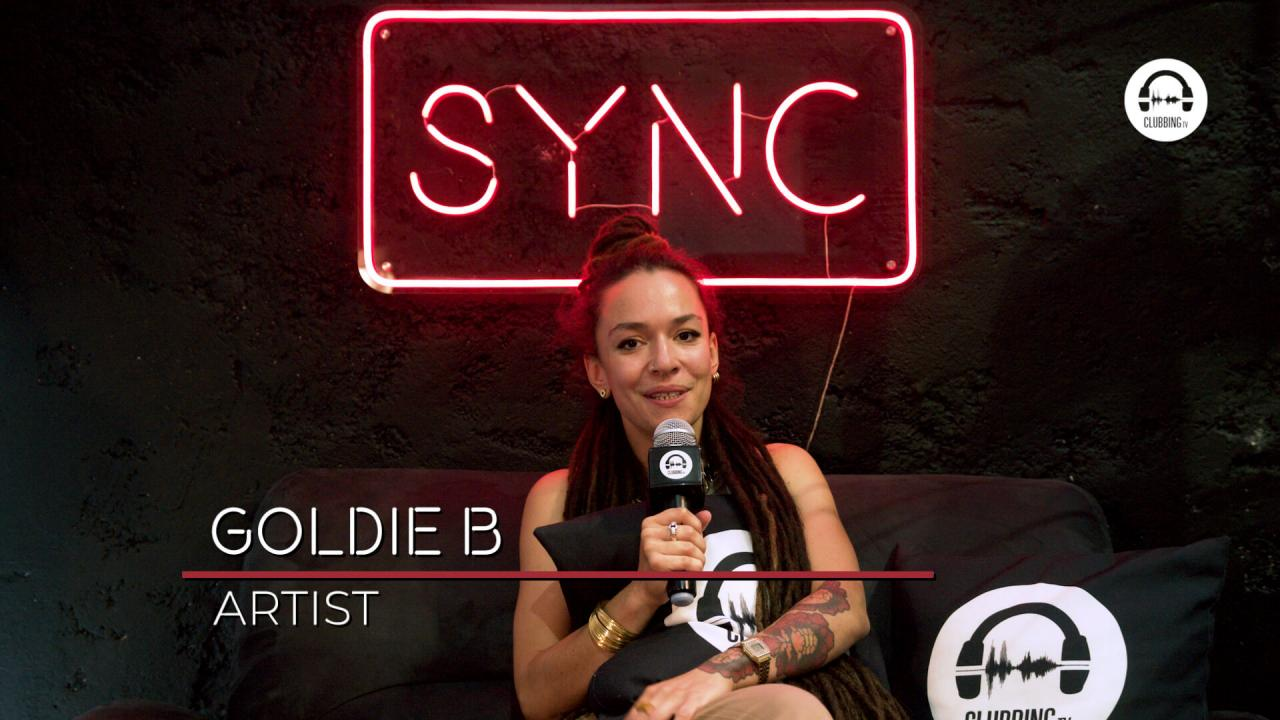 SYNC with Goldie B