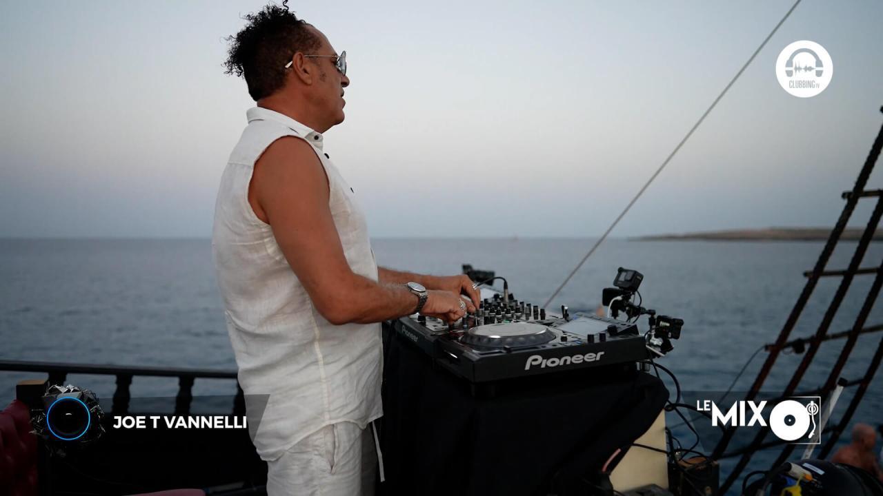 Joe T Vannelli - Live On Tour 2021 @ Lampedusa Island Boat Party